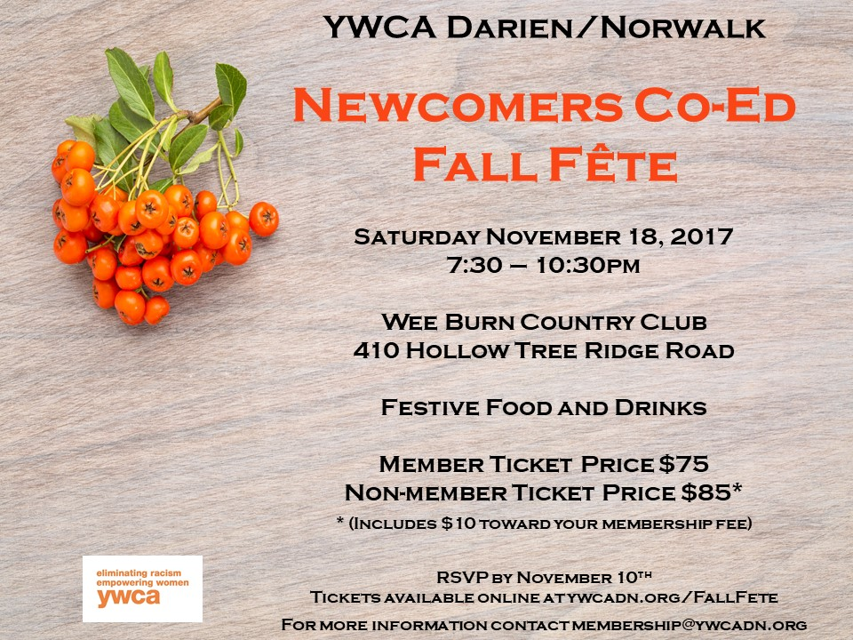 Newcomers Invitation Fall Party Invitation